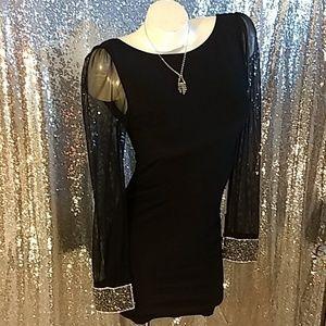 Monaco Black Dress